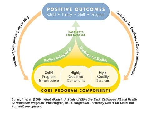 Figure 1: Framework For Effective Early Childhood Mental Health Consultation Programs