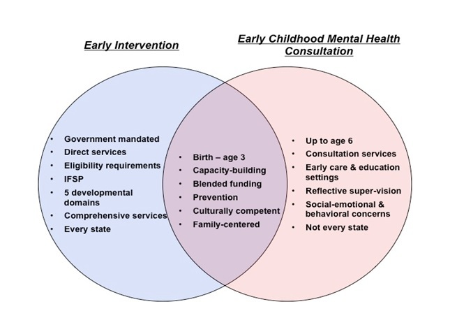 Figure 2: The Intersection of Early Intervention and Early Childhood Mental Health Consultation